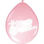 Pink Stork Született Lufi - 8 db