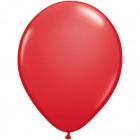 Balloons rubinrot metallic 30cm 50pcs