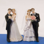 Wedding figurine classic couple