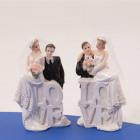 Wedding figurine LOVE couple