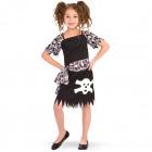Piraten meisje jurk - maat S