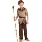 Indians Warrior Suit 3-piece Child Size S