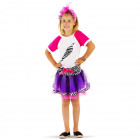 Queen of 80s Doll 3-Piece Pack Girls - Size M -