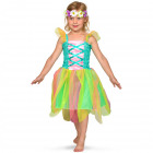 Spring Fairy Dress with Flower Crown Girls - Size