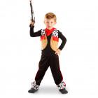Cowboy Suit 3 pieces - Child size M - 116-134