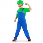 Super Plumber Green Costume - Child size M - 11