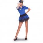 Sexy Police Costume 2-piece Ladies Size L-XL