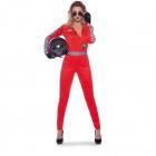 Sexy Formula 1 Race Jumpsuit 3-piece Women SM