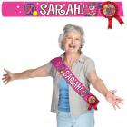 50 Years Sarah Wink Sash