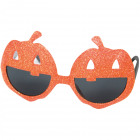 Glasses Halloween Pumpkin Glitter