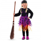 Heksen jurkje - kindermaat s