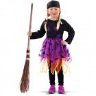 Witch Dress Purple - Child size M
