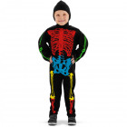 Skelet Verkleedpak Meerkleurig - Kindermaat M
