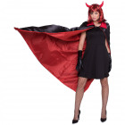Vampire Cape Halloween - Red-Black odwracalny
