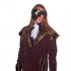 Steampunk Złota Maska Deluxe