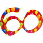 Party Age Glasses Red 60