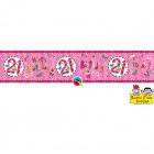 21 Years Anniversary Banner - 2.6 meters