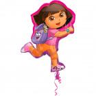 Dora the Explorer and Backpack Foil Balloon