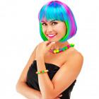 Bob wig rainbow
