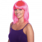 Wig Lob Neon Pink