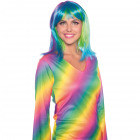 Wig Lob Neon Rainbow