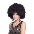 Black Afro Wig XL