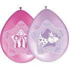 Glamor girls balloons - 8 pieces
