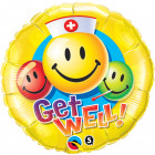 Get Well globo Emoticonos 46cm