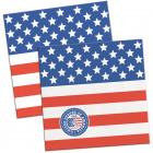 USA Party Napkins 25x25cm - 20 pieces