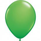 Zielone balony wiosenne 13 cm - 100 sztuk