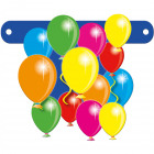 Banner letter Cheerful Balloons