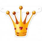 Banner letter princess crown