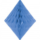 Baby Blue Honeycomb Diamond 30cm