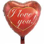 Heart Balloon I Love You 43cm