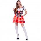 Tyrolean Dress Dirndl Oktoberfest Flower L-XL