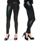 Legging Metallic Black L-XL
