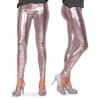 Legging fémes ezüst L-XL