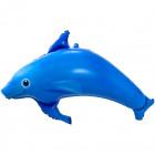 Dolphin foil balloon - 99x70cm