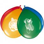 Safari Party Balloons - 8 pieces