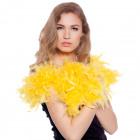 discoteca de lujo amarillo neón boa - 1,80 metros