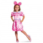Pink Dress with Dots - Child Size M