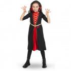 Zwarte Vampieren Jurk Meisjes 98-116