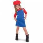 Red Super Plumber Pack for Girls - Size 11