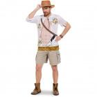 Jungle Jim Safari Shirt Men - Size ML