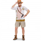 Jungle Jim Safari Shirt Men - Size XL - XXL