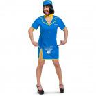 Stewardess Dress Men - Size ML