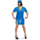 Stewardess Dress Men - Size XL-XXL
