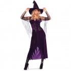Boszorkány ruha Lila S / M