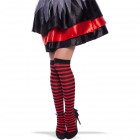 Black-Red Striped Stockings