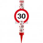 Kategoria F1 Fountain Ice Traffic Sign 30
